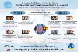 video-conferencia-enfermeria-postpandemia-retos-e-ilusiones